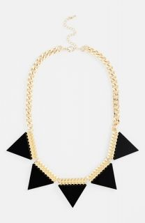 'Triangle' Statement Necklace