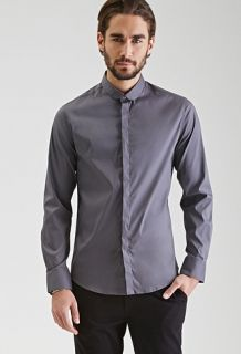 Classic Collared Button-Down Shirt